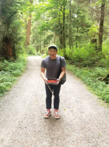 With the berries, Edward Fu-Hen Juan can look forward to creating silkscreen prints.
